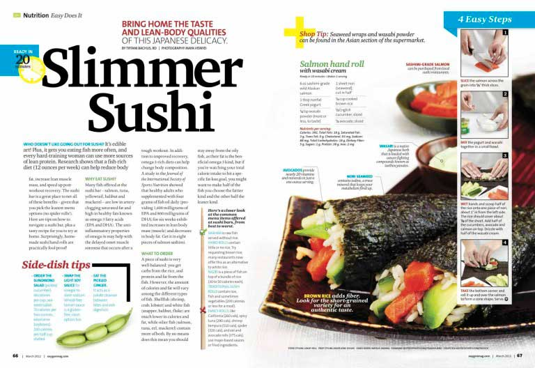 Oxygen Magazine-Sushi-Linsey Bell