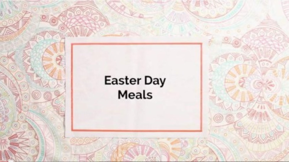 Amazing Easter Recipes featured on the Food Network.ca